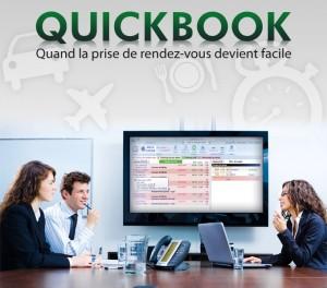 Quickbook, gestion de rendez-vous
